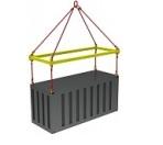 Траверса для контейнеров ручная ТРК1