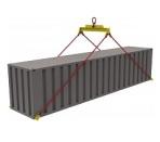 Траверса для контейнеров ручная ТРК9