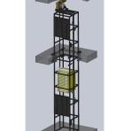 Грузовой подъемник сервисный (малогрузовой)