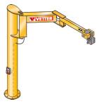 Поворотный консольный кран на колонне BOY